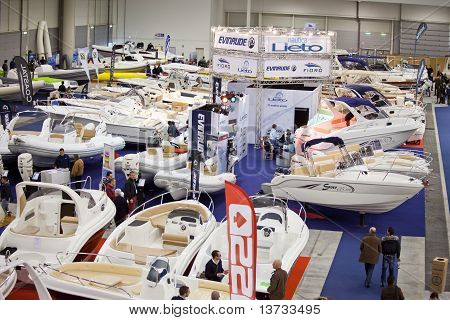 The Hall Of Dinghies - Big Blue Sea Expo, Rome 2011