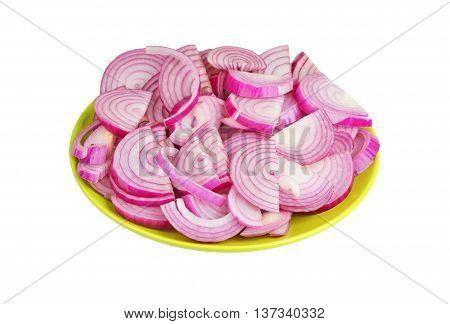 Slised Red Onion
