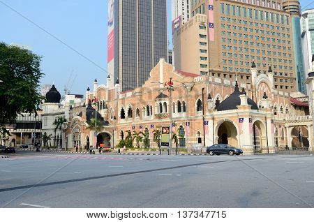 Kuala Lumpur/Malaysia - September 2012: City Theatre near Merdeka Square in Kuala Lumpur, Malaysia.