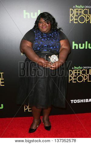 NEW YORK-JUL 30: Actress Gabourey Sidibe attends the Hulu Original Premiere of 'Difficult People' at the SVA Theater on July 30, 2015 in New York City.