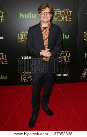 NEW YORK-JUL 30: James Urbaniak attends the Hulu Original Premiere of 'Difficult People' at the SVA Theater on July 30, 2015 in New York City.