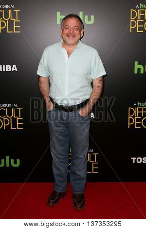 NEW YORK-JUL 30: Actor Mark Shaiman attends the Hulu Original Premiere of 'Difficult People' at the SVA Theater on July 30, 2015 in New York City.