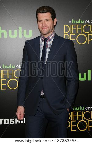 NEW YORK-JUL 30: Actor Billy Eichner Cruise attends the Hulu Original Premiere of 'Difficult People' at the SVA Theater on July 30, 2015 in New York City.