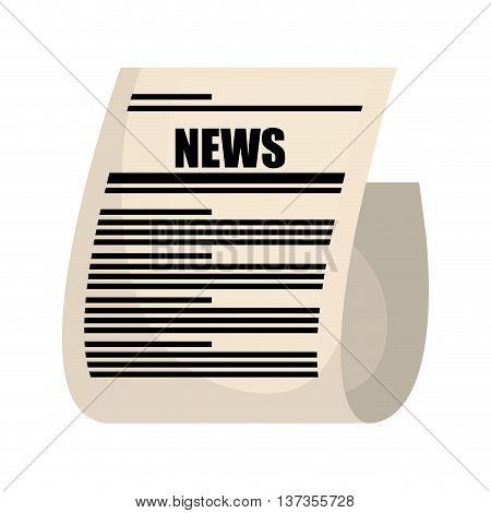 News media isolatd icon design, vector illustration graphic.