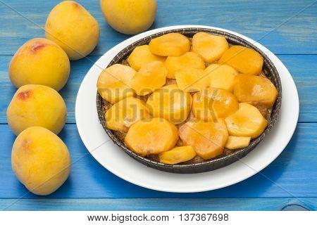 peach pie, peach cake, peach tart homemade