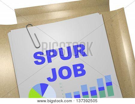 Spur Job Concept
