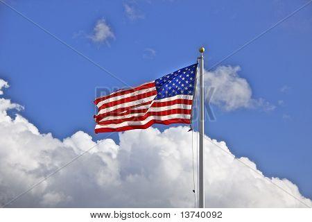 Flag & Sky