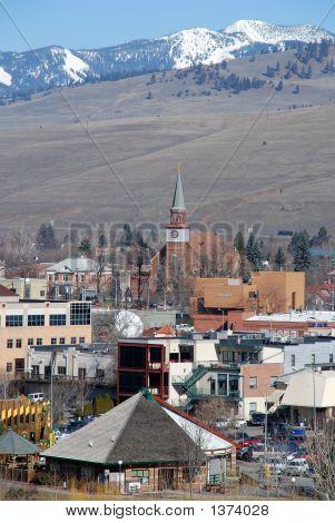 St. Francis Xavier Catholic Church In Missoula, Montana