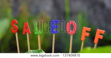 Sale Off Background