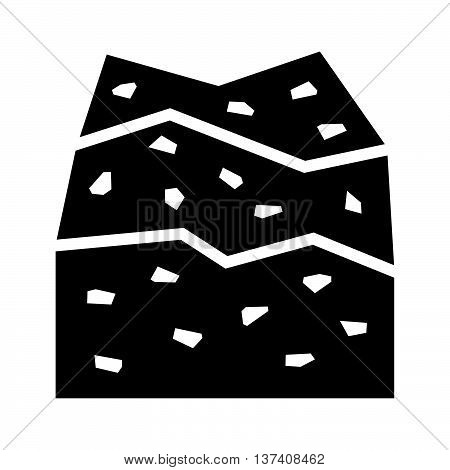 Climbing wall ( shade picture ) on whte