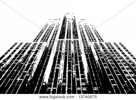 urban building vector