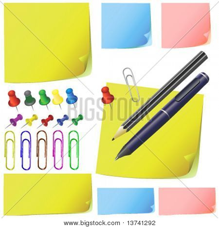 Post, Briefpapier, Bleistift, Feder, Office Pack (andere Farbe)