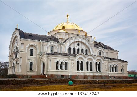 St. Nicholas Church in Memorial complex Brest Hero Fortress Belarus