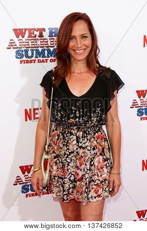 NEW YORK-JUL 22: Actress Marisa Ryan attends the 'Wet Hot American Summer: First Day of Camp' Series Premiere at SVA Theater on July 22, 2015 in New York City.