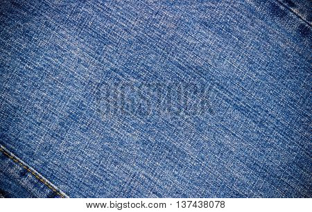 Blue jeans texture. Blue jeans background. texture.