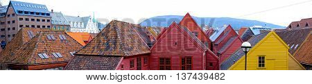 Tile Roofs Of Old Houses