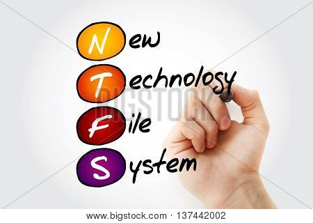 Ntfs New Technology File System