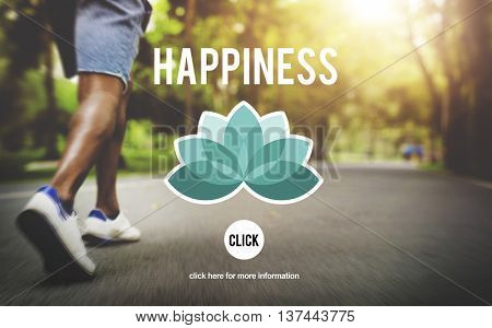 Happiness Positive Thinking Life Optimistic Concept