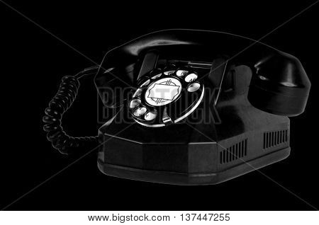 Mice Image of a Antique Telephone