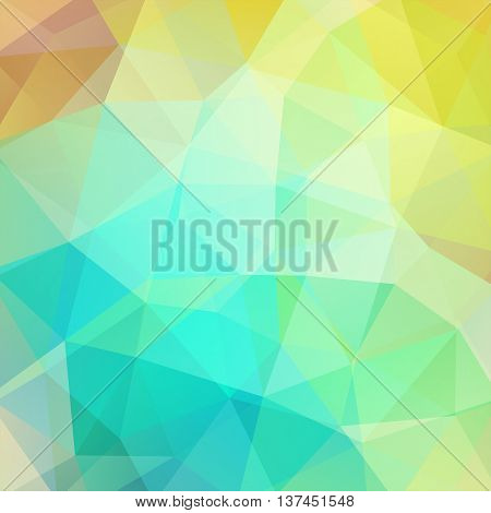 Abstract Polygonal Vector Background. Pastel Geometric Vector Illustration. Creative Design Template