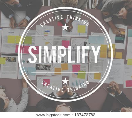 Simplify Clearify Minimal Simple Understandable Concept
