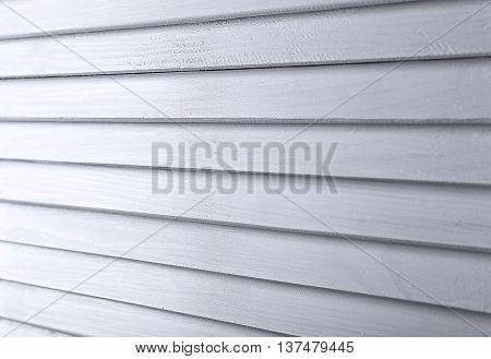 Grey folding screen, closeup