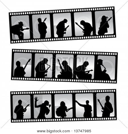 music filmstrip