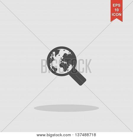 Search Web Icon. Vector Design