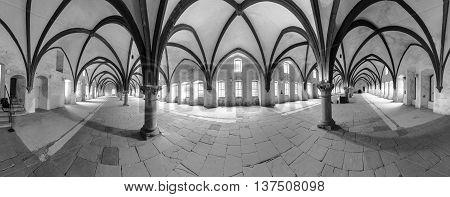 Dormitorium In The Abbey.