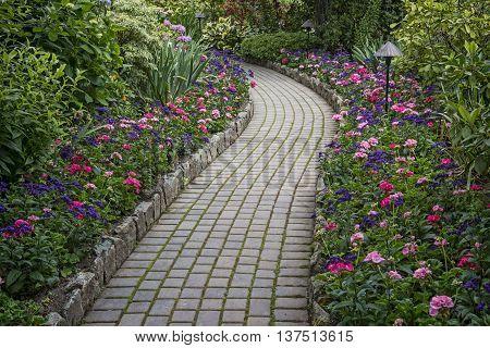 Garden Stone Pathway