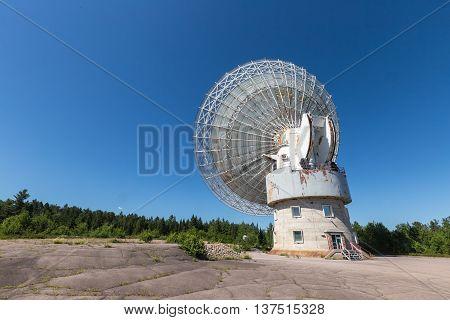 Algonquin Radio Observatory Telescope in Algonquin Park