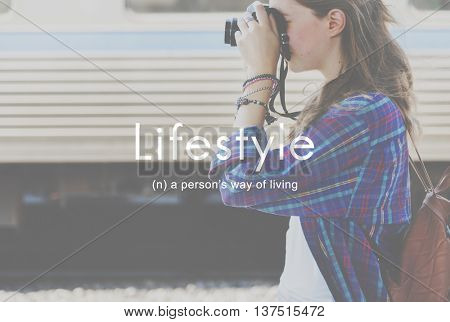 Lifestyle Way of Life Hobbies Interests Passion Concept