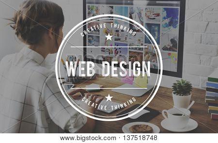 Web Design Programming Internet Online Software Concept