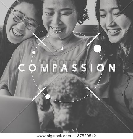 Compassion Assistance Care Relation Support Concept