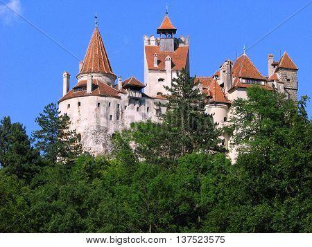 bran castle transylvania medieval fortress