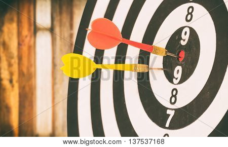 Target Dart With Target Arrows And Dartboard Is The Target And Goal,abstract Background To Target Ma