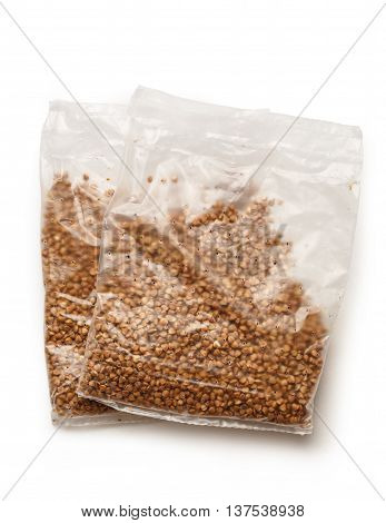 Packets Of Dry Buckwheat