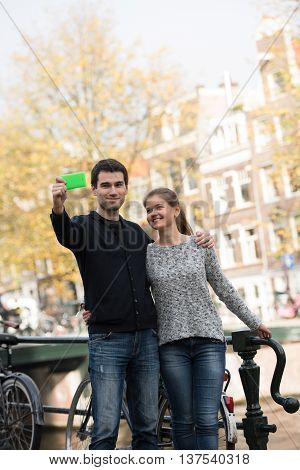 Lovers In Amsterdam