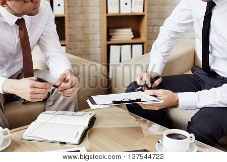 Concluding a deal
