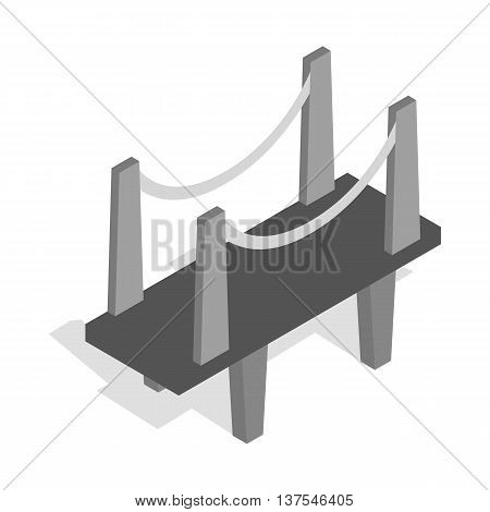 Scaffolding icon in isometric 3d style isolated on white background