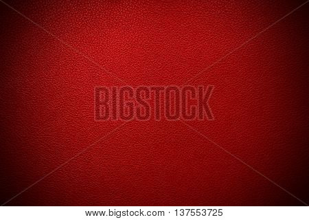Red leather texture , with border vignette