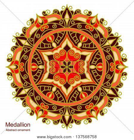 Ethnic Medallion-mandala.