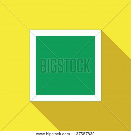 Icons of road signs on a white background. Picture style flat