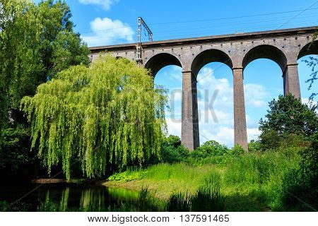 Digswell Viaduct In The Uk