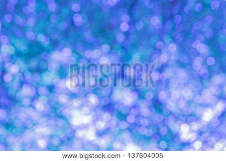 Blurred Lights Circular Bokeh Abstract