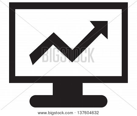 Stock Charts Icon computer icon symbol icon arrow symbol