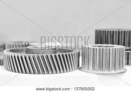 Close Up Mechanical Ratchets