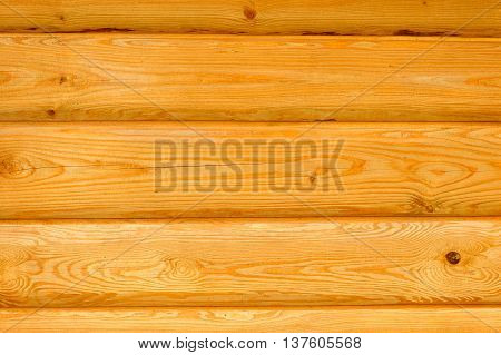 A natural wooden wall as a background