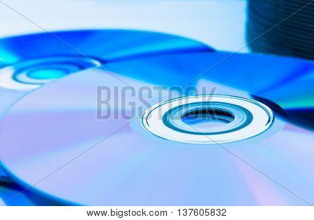 Closeup Compact Discs (cd/dvd)