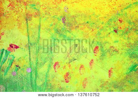 Close Up of an Abstract Textured Background